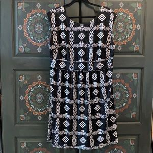 Black and White Summer Weight Dress